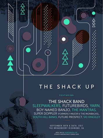 Shack Up Announcement